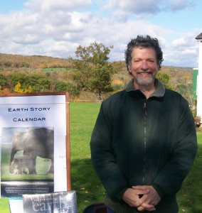 with Earth Story Calendar 2012 at Putney School Harvest Festival